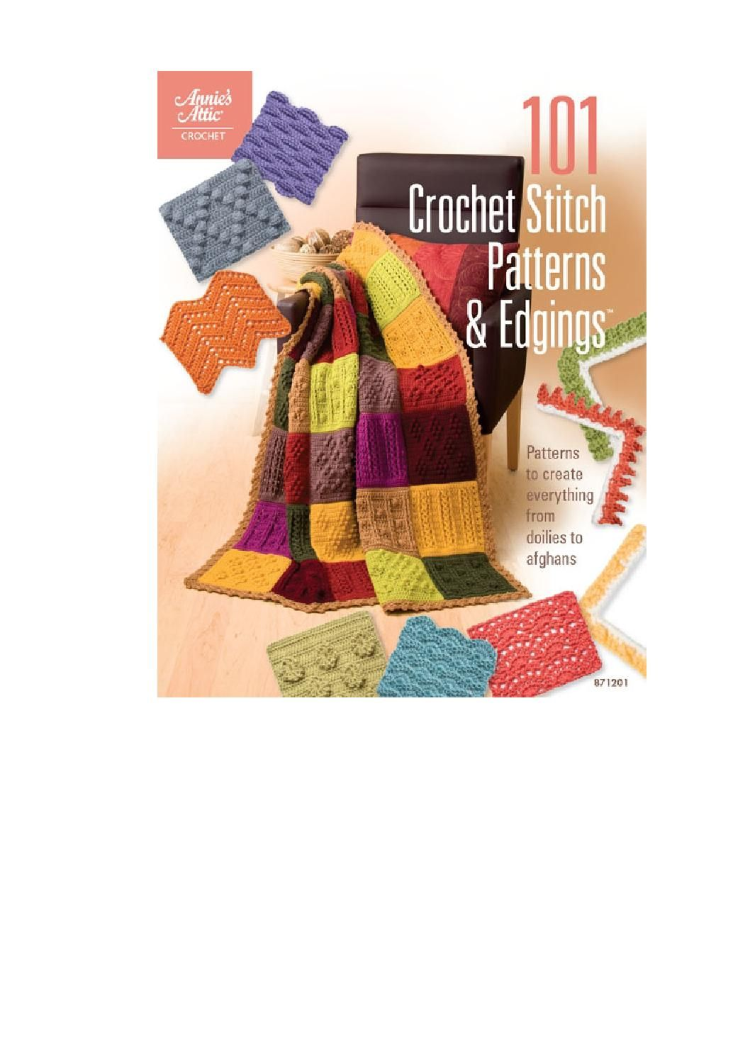 101 crochet stitch patterns & edgings by Craftziners