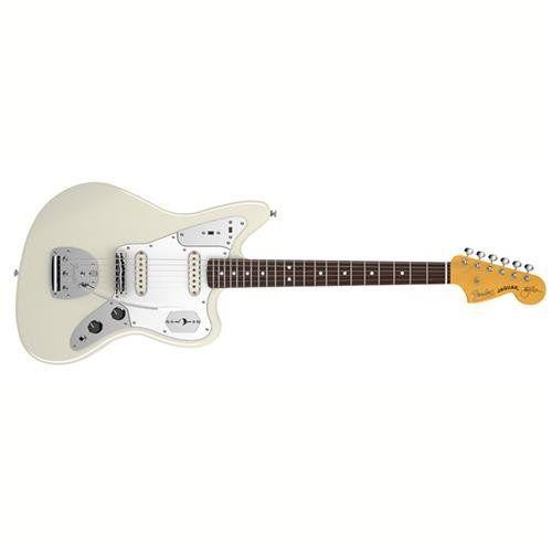Fender Johnny Marr Jaguar Rosewood Fingerboard Olympic White For More Information Visit Image Link Johnny Marr Fender Jaguar Cool Guitar