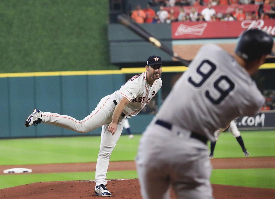 Yankees Reveal Plan Of Attack For Astros Aces Justin Verlander Gerrit Cole Zack Greinke Justin Verlander Yankees Astros