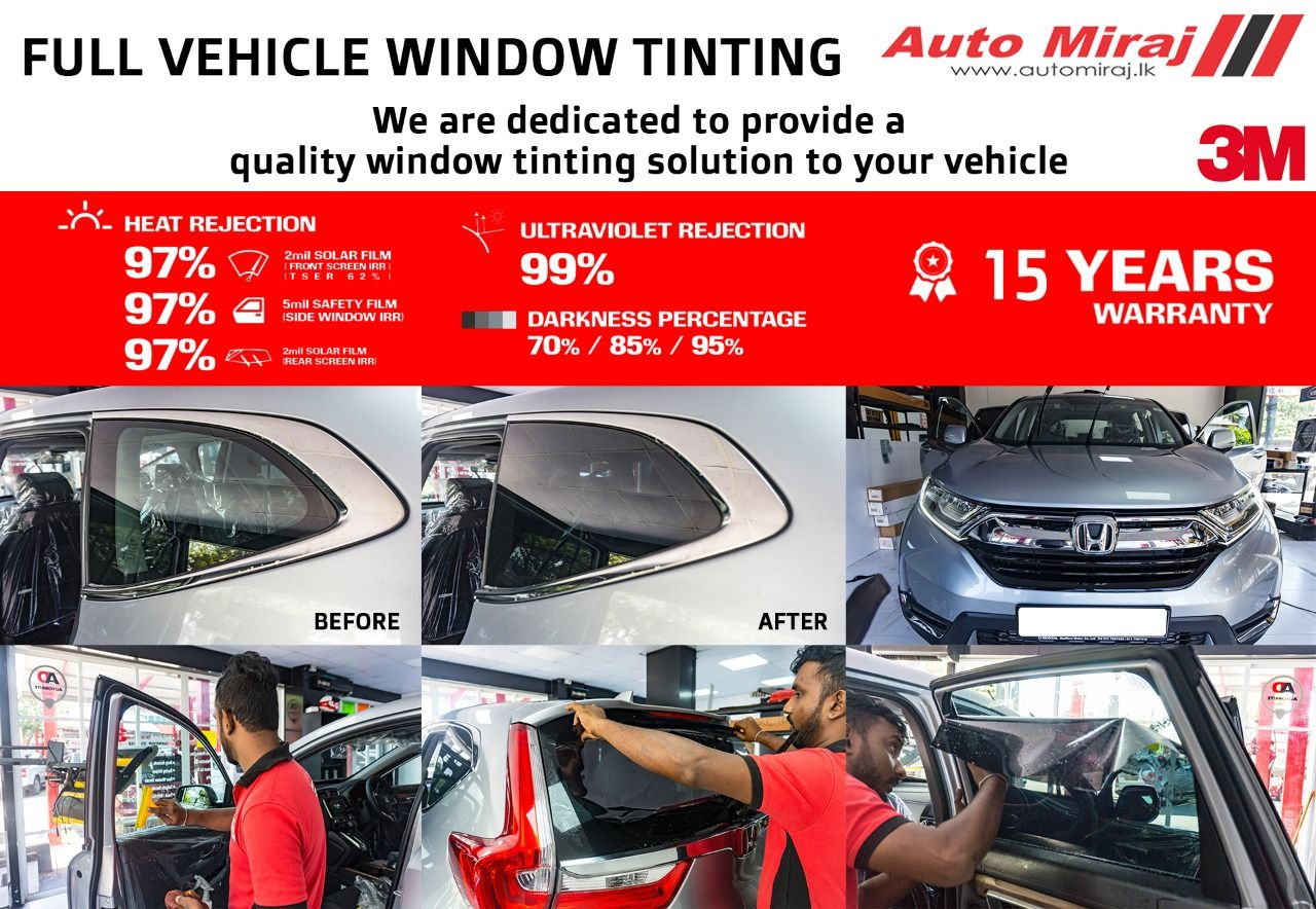 Are the windows of your vehicle tinted? If you haven't