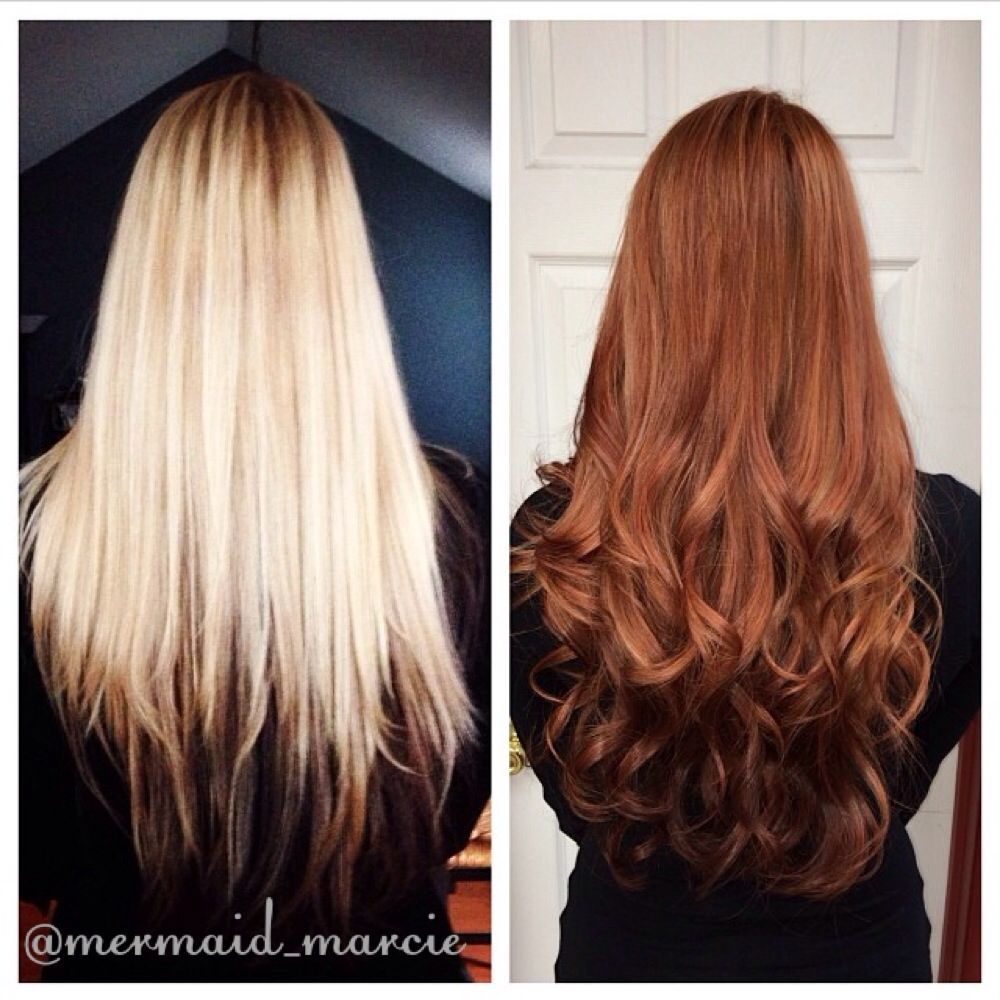 Did My Gorgeous Client A Lovely Shade Of Red Bye Bye Blonde Hello