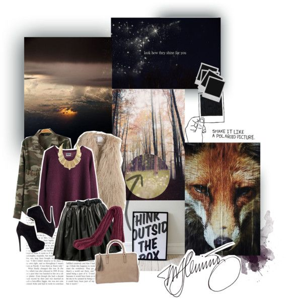 I really love style like this,I wish I have that skirt :) How about u? :)  @saralemon @iolitte @gagarose @darkcherry  lov u xx Marija ♥