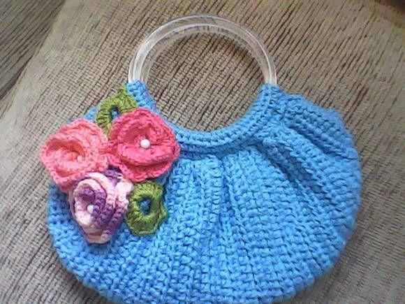 Bolsa Em Tecido Infantil Passo A Passo : Bolsa de croch? infantil em croche
