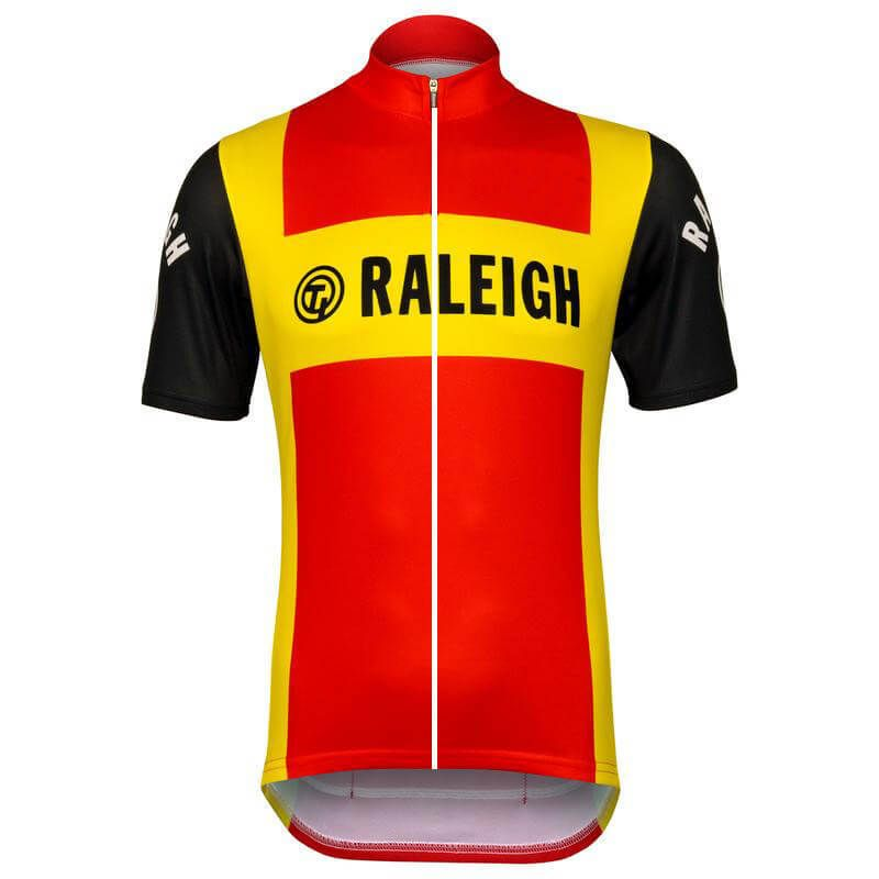 TI Raleigh Retro Short Sleeve Cycling Jersey  bf1a7b5b8