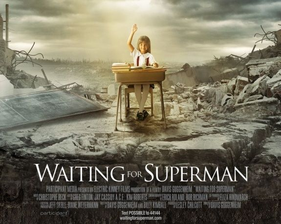 waiting for superman  moviereview
