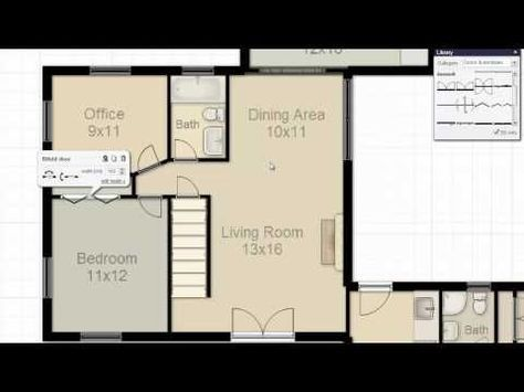How To Make A Floorplan In Excel Microsoft Excel Tips Youtube Floor Plans
