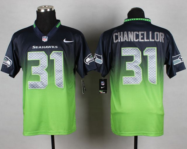 all black seahawks jersey