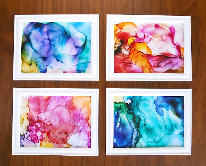 This fired ink art is so cool it 39 s easy enough for kids Summer craft ideas for adults