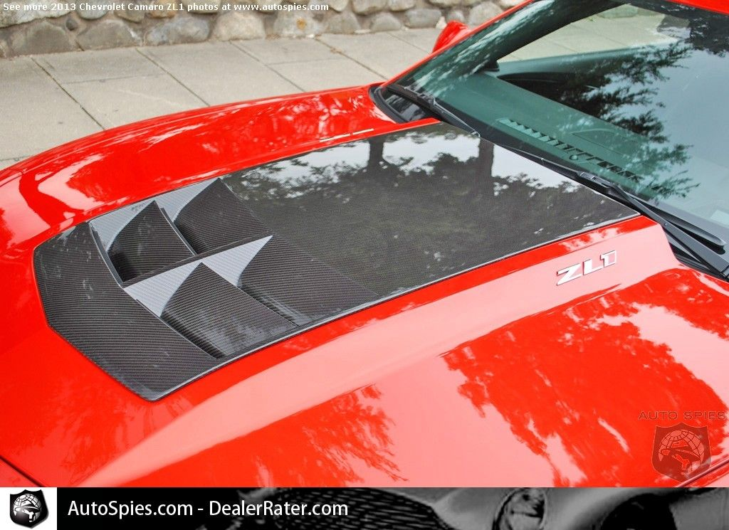 2013 Chevy Camaro Zl1 With Carbon Fiber Hood Insert Chevy Camaro Zl1 Camaro Chevrolet Camaro