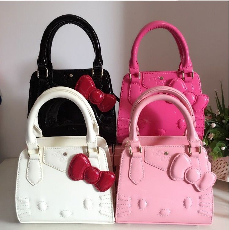 New Hello Kitty Women Shoulder bag Hand bag Purse Women Girl 2018 Gift 4  Colors  Unbranded  Backpack 8ddf68dd969ee