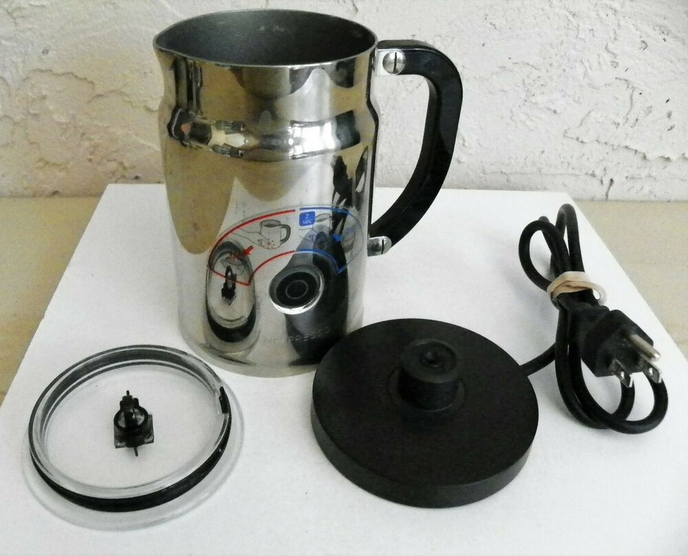 Nespresso Aeroccino Plus Milk Frother Stainless Steel 3192