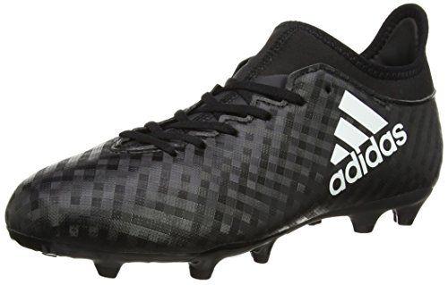 wholesale dealer d3ad9 a5acf adidas X 16.3 FG, Botas de Fútbol Unisex Niños, Negro (Core Black   Ftwr  White   Core Black), 34 EU