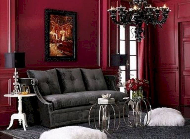 Gothic Mirror Decor Gothic Living Rooms Victorian Living Room Gothic Home Decor #victorian #gothic #living #room
