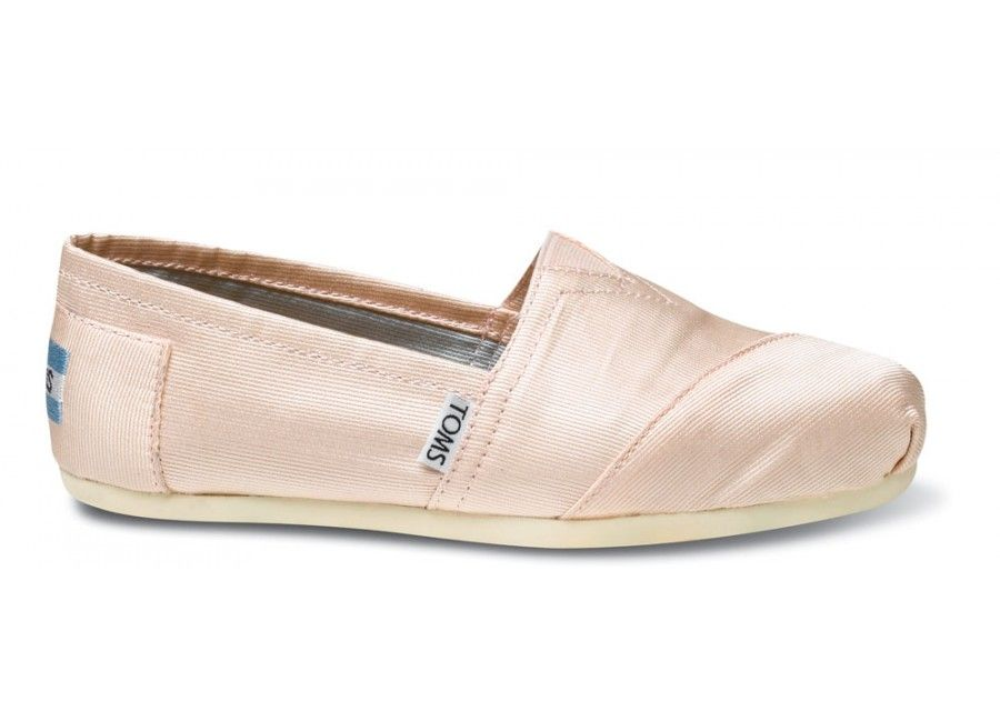 515143b43382 Perfect Ballerina slippers! Petal Grosgrain Women s Classics  TOMS ...