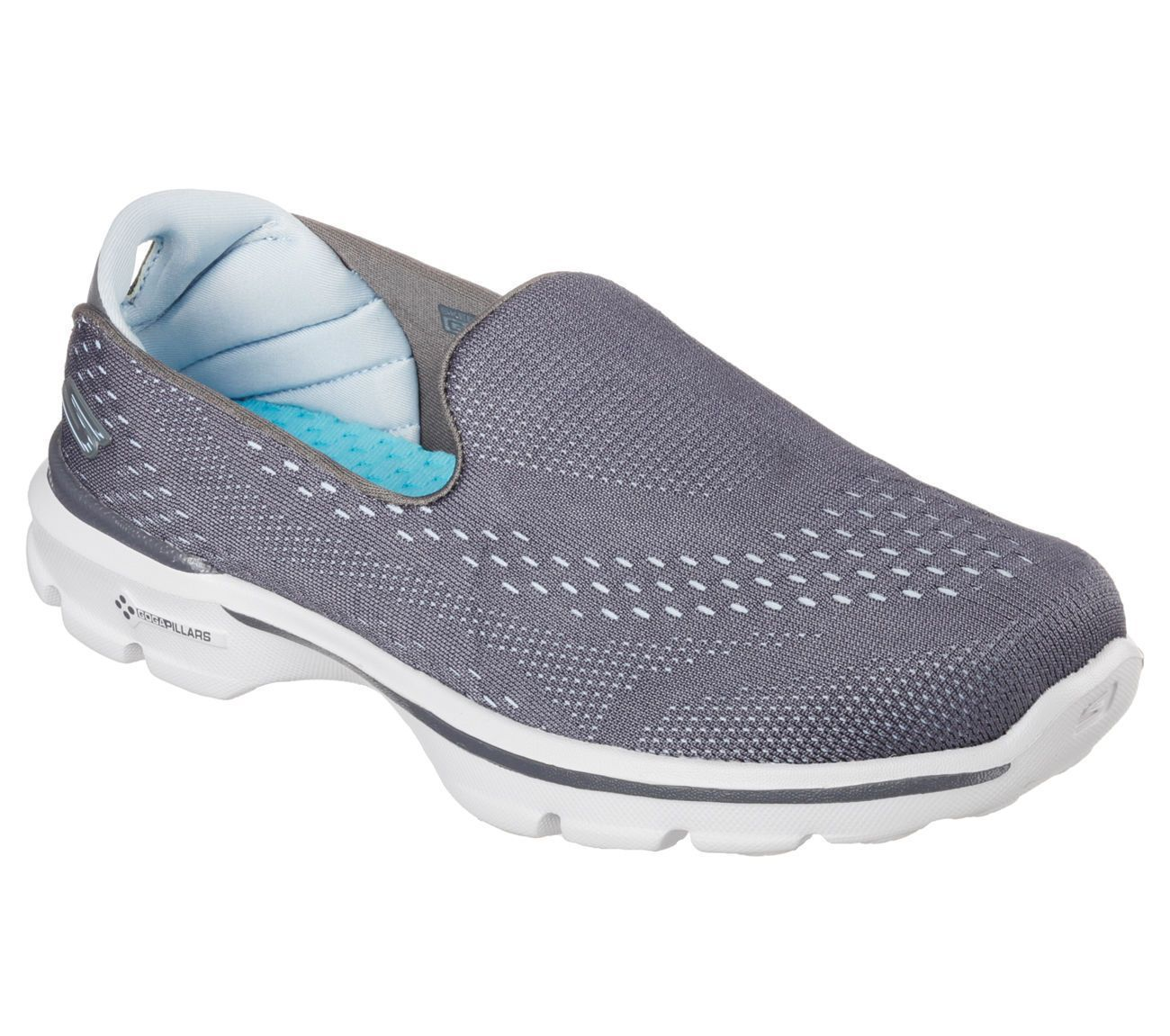 14050 Ccbl Gray Skechers Shoe Go Walk3