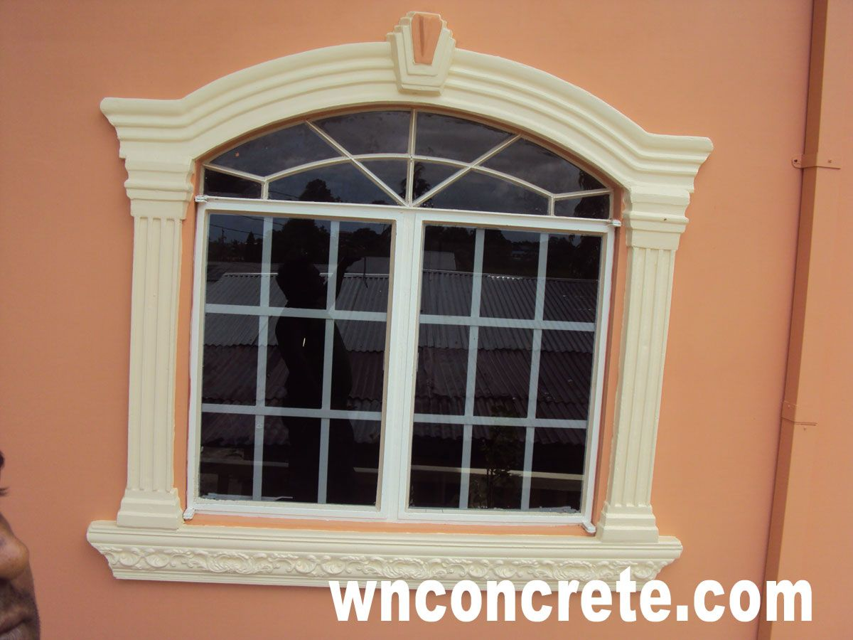 W n concrete products in trinidad tobago quality design for Window design outside