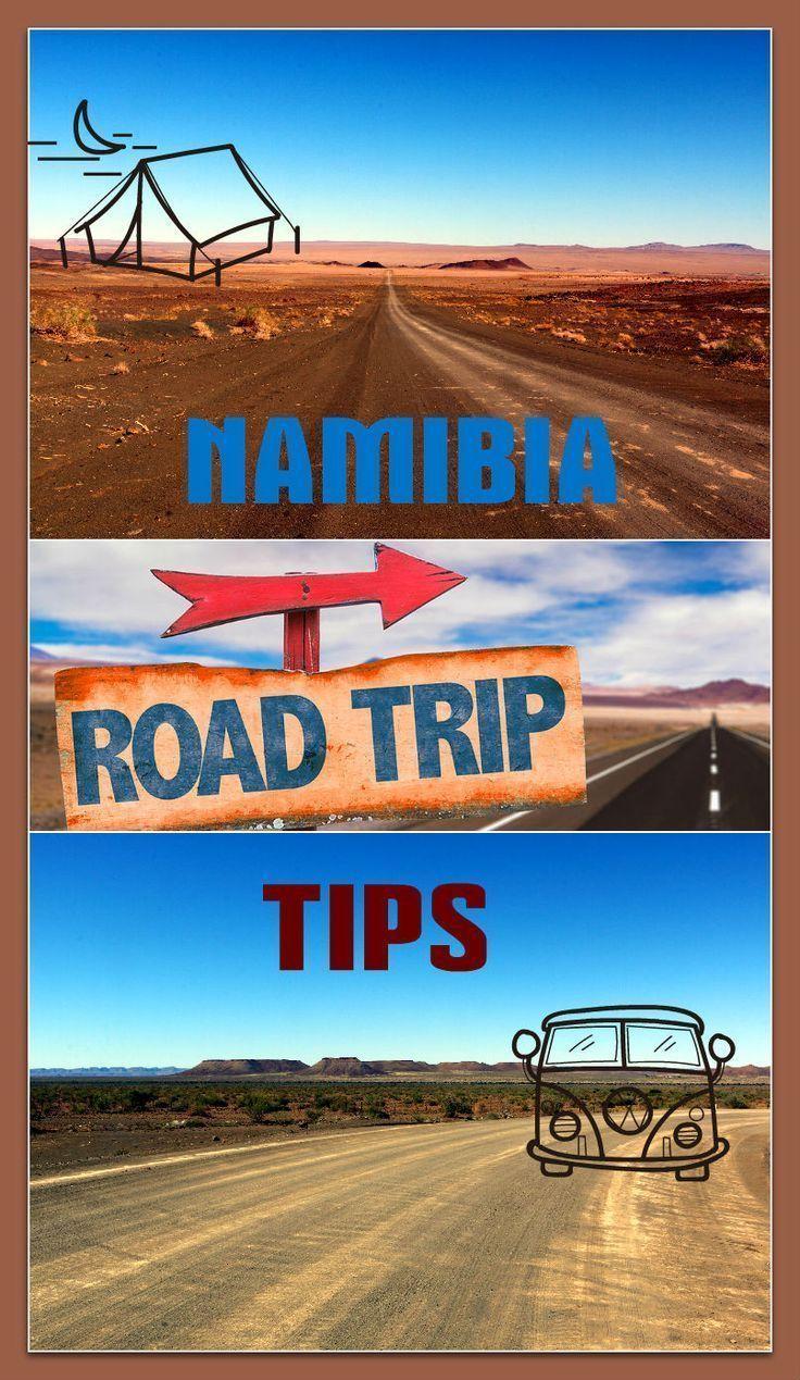 Namibia travel tips. Road trip planning Namibia travel