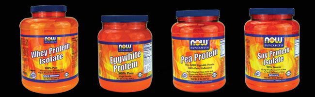 Now Egg White Protein -- carried at a bunch of GNC and VitaminShoppe