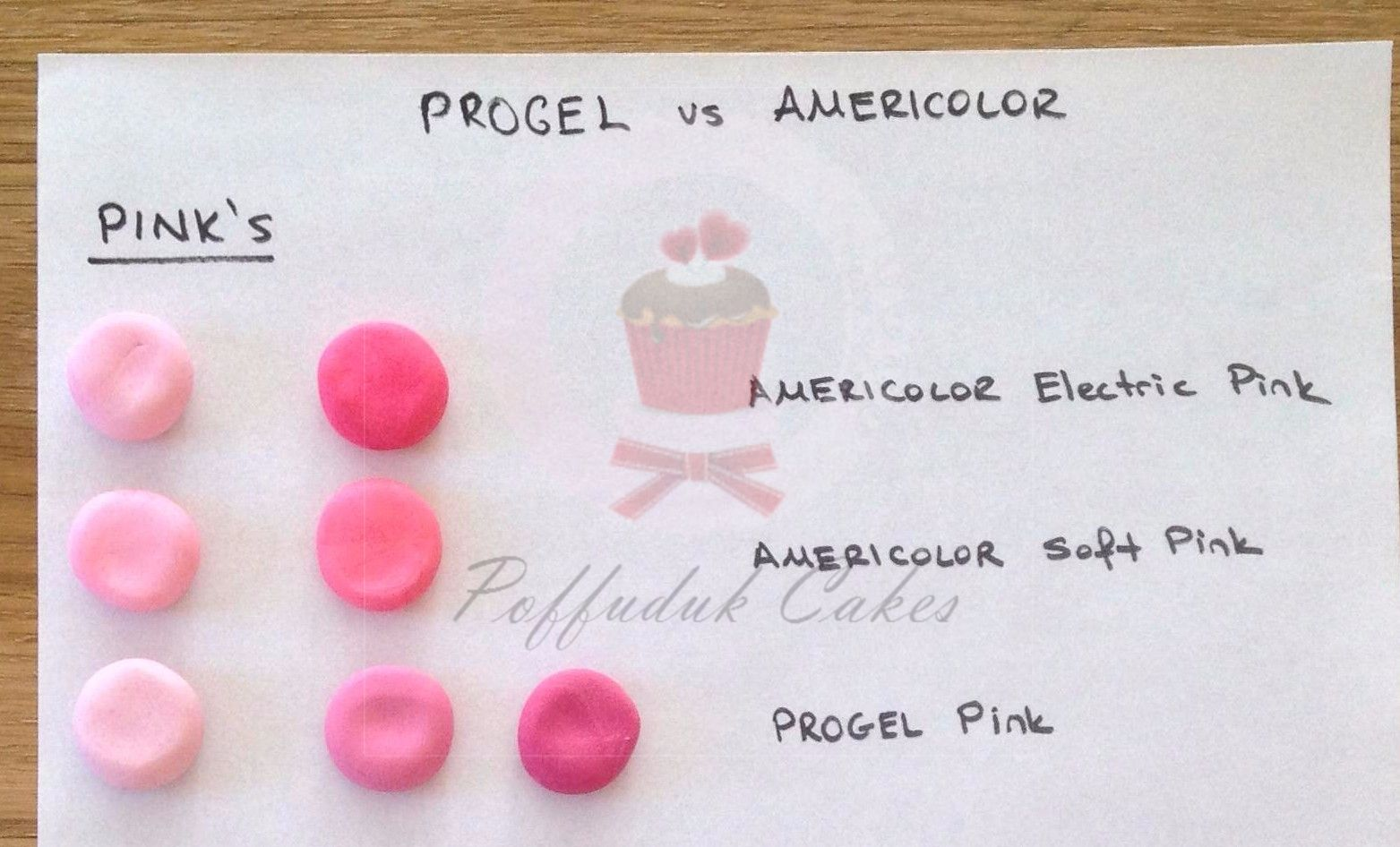electric pink or hot pink gel americolor - Google Search ...