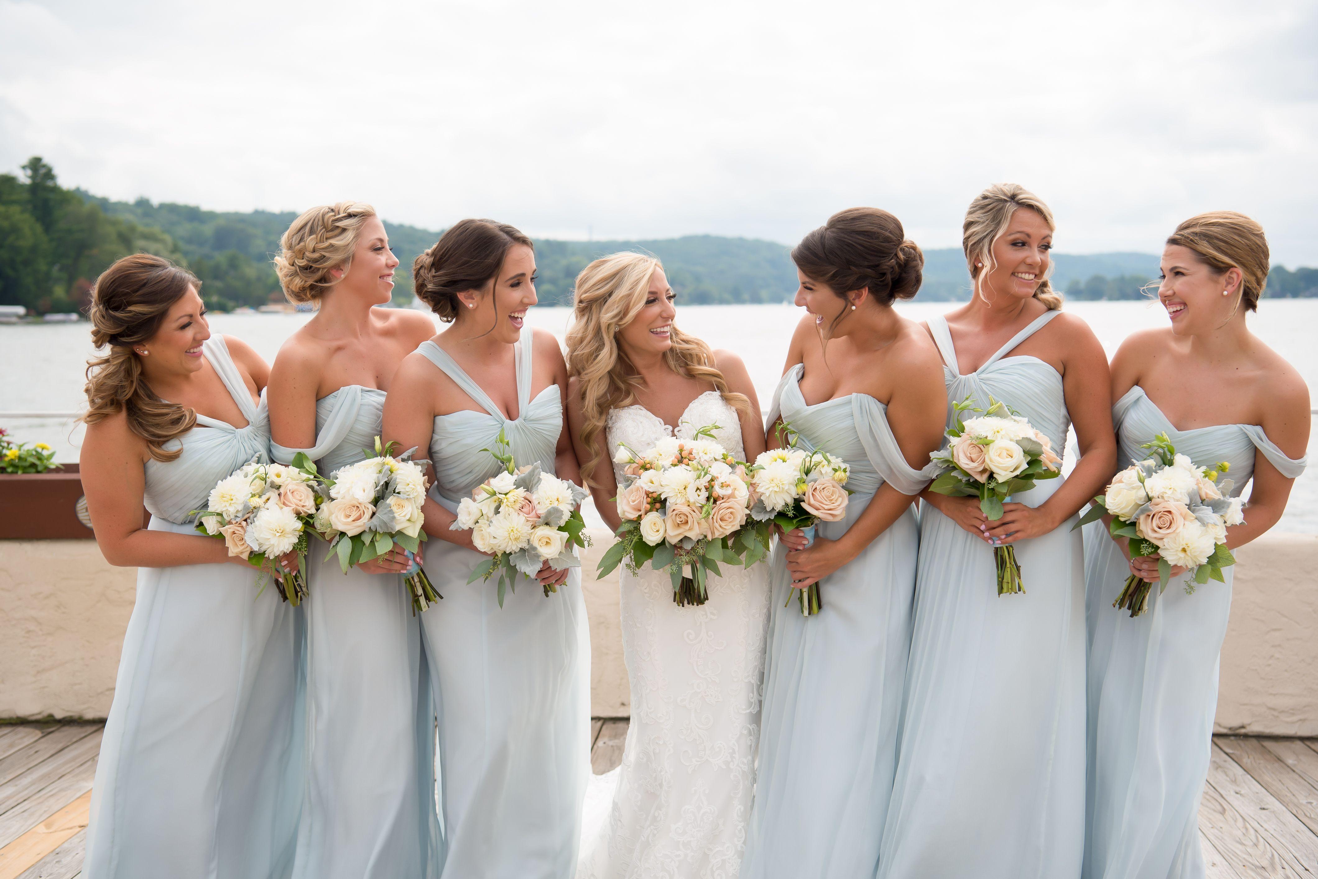 Bella Bridesmaids Madison Shop Bridesmaids Dresses In Store Ice Blue Bridesmaid Dress Blue Wedding Inspiration Amsale Bridesmaid Dresses [ 2830 x 4239 Pixel ]