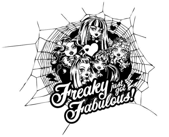 Las Monster High Draculaura Frankie Gholia Lagoona Spectra