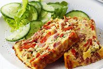 Ham and egg loaf - Recipes - Slimming World