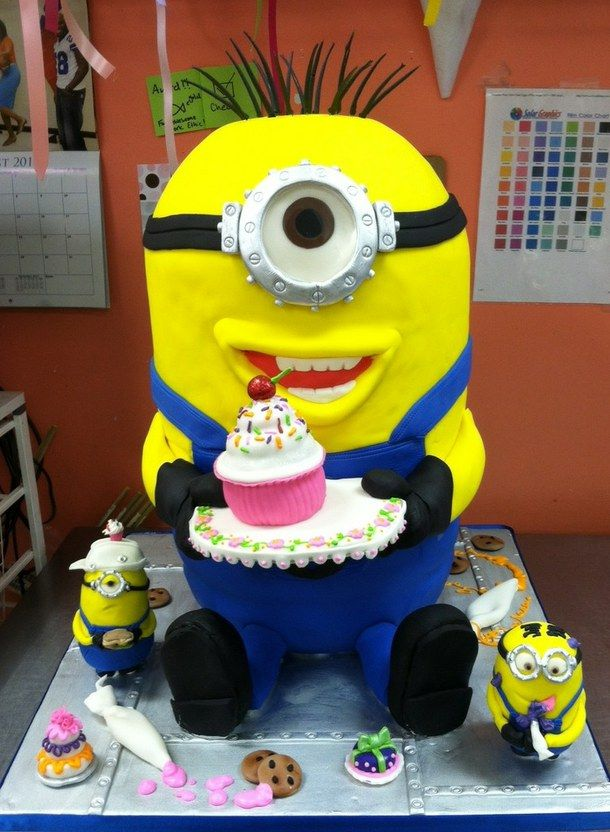 100 Happy Birthday Minions Images Gifs Memes Minion Cake