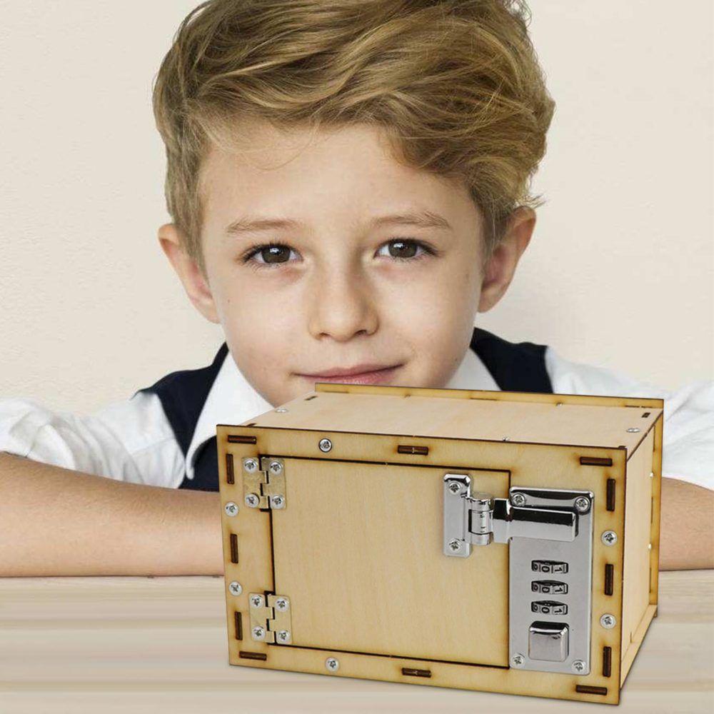 Kids Diy Embling Wooden Mechanical