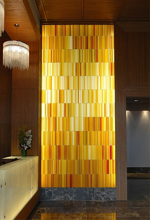 Art Glass Feature Walls, Site Specific Designs | Эдуардо | Pinterest ...