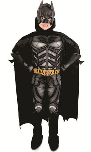 Fantasia Infantil Batman Luxo O Cavaleiro Das Trevas Ressurge