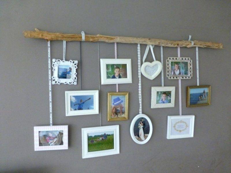 Fotowand gestalten ohne Bilderrahmen – Ideen und Anregungen – Haus Dekoration Mehr – Home