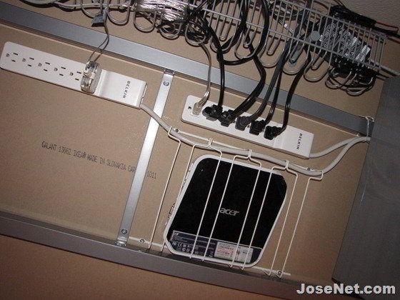 ikea cable manager used well workspace pinterest kabelsalat kabel und arbeitszimmer. Black Bedroom Furniture Sets. Home Design Ideas