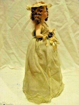 Wedding Doll  Half DollAntique 1930s era. Brides Maid Irish Bridesmaid #bridemaidshair