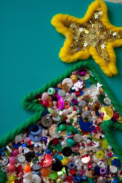 Christmas Craft for Kids with Loose Parts