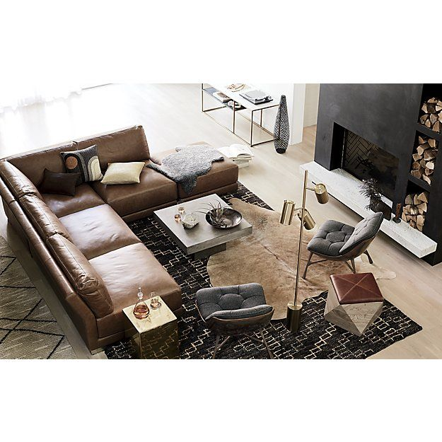 Living Room Ideas To Steal For Comforting Vibe Found In: Shop Trap Neutral Rug. Inspired By Carpets Found In The