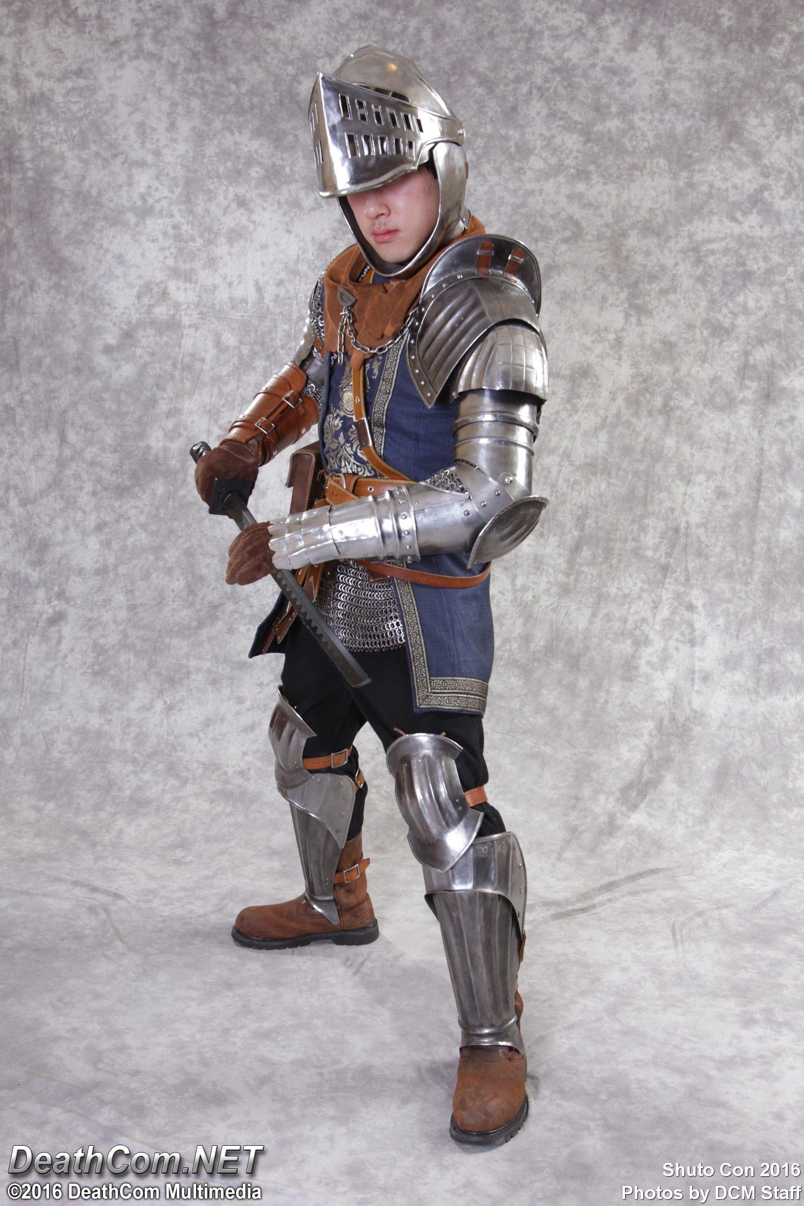 CRS260 cosplay of Oscar, Knight of Astora from Dark Souls