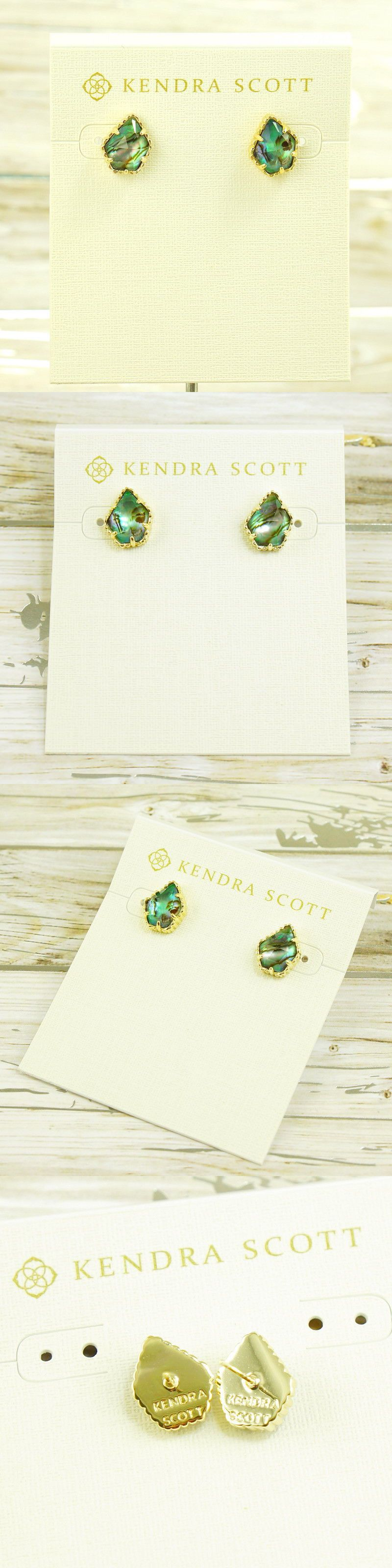 earrings fullscreen jewelry lyst marty abalone shell view in drop blue stud kendra scott