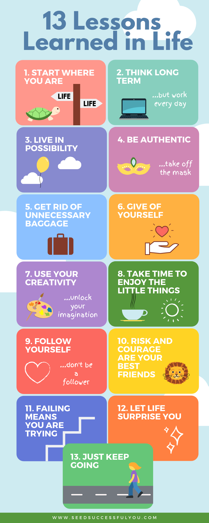 13 Important Lessons Learned in Life Lessons learned in