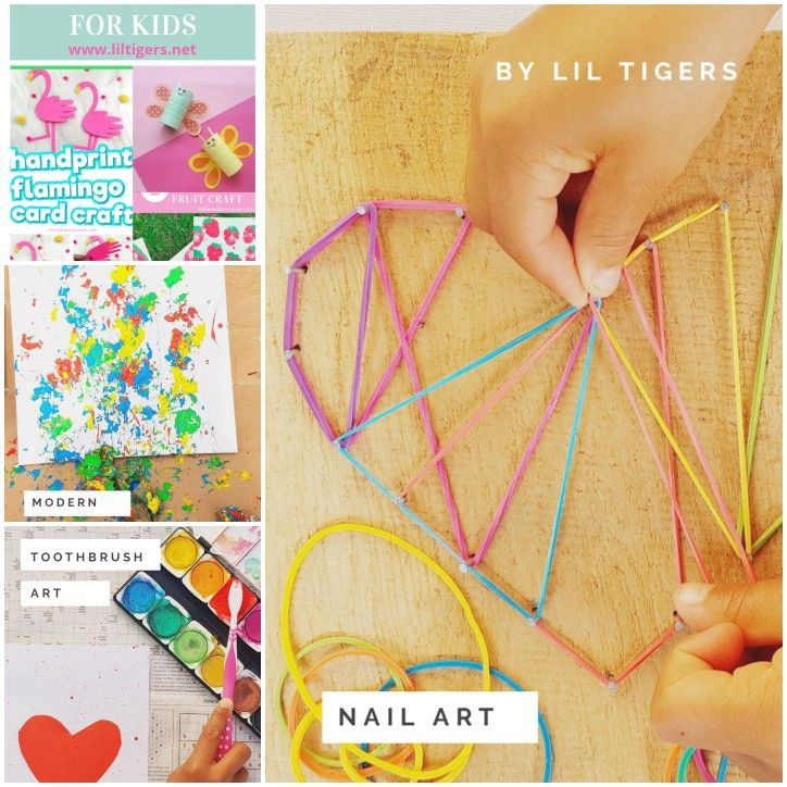 Are you looking for fun arts and crafts ideas for kids? Take a look at my blog and get new inspirations. Click through now #artsandcrafts #kids