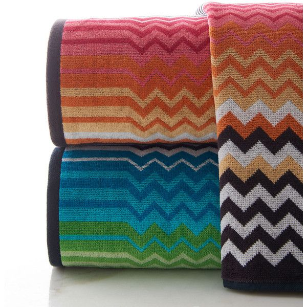 Missoni Home Stan Bath Sheet (18850 RSD) ❤ liked on Polyvore ... on spa accessories, pantry accessories, jewelry accessories, room accessories, home accessories, bathtub accessories, sink accessories, fireplace accessories, interior design accessories, travel accessories, bedroom accessories, west elm slate bath accessories, furniture accessories, cleaning accessories, croscill mosaic leaves bath accessories, shower accessories, closet accessories, outdoor accessories, house accessories, office accessories,