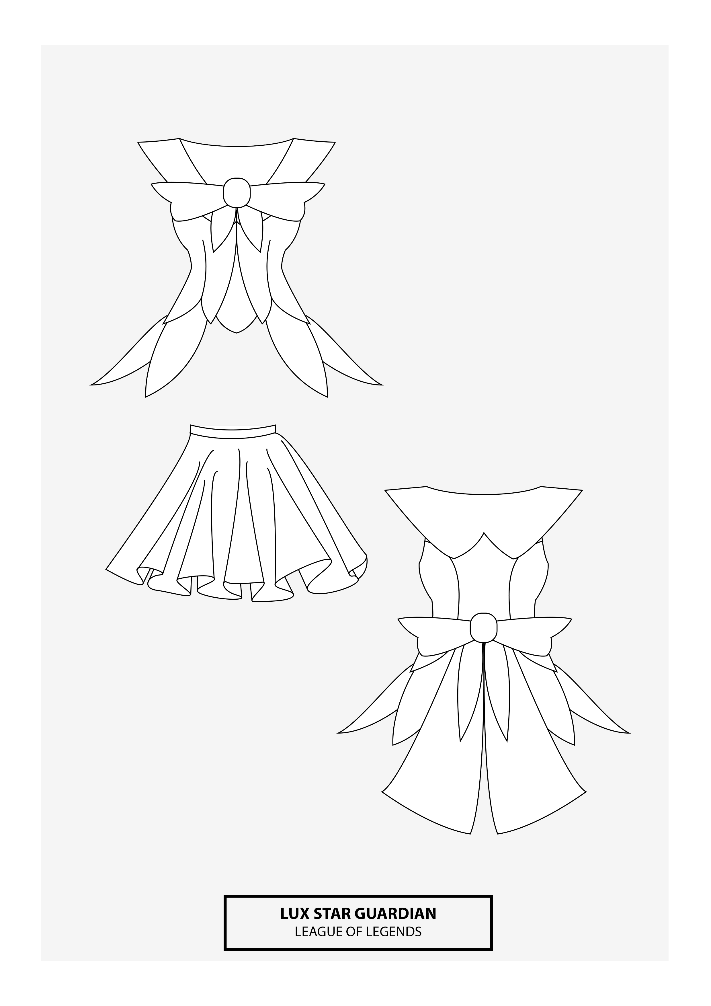 Lux Star Guardian | Cosplay Sewing Pattern | Cosplay | Pinterest ...