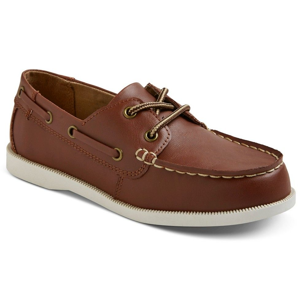 Boys' Fitz Boat Shoes Brown 4 - Cherokee, Boy's