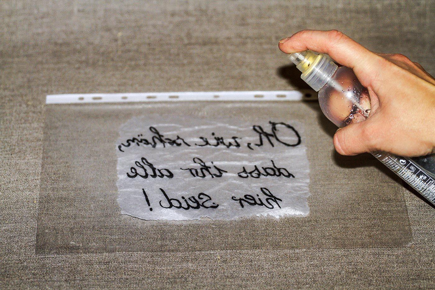 DIY: Vintage-Schilder selber machen