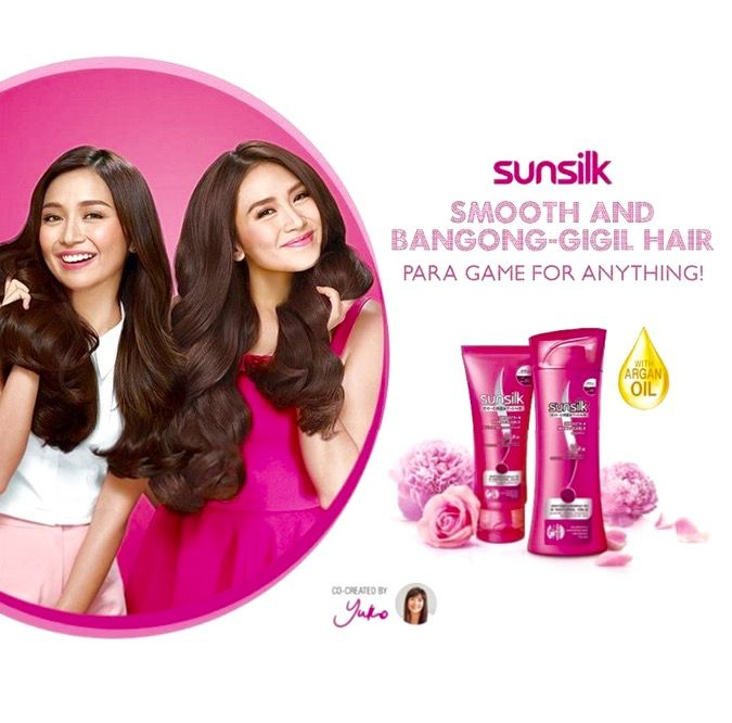 This is the pretty Kathryn Bernardo with Sarah Geronimo doing a