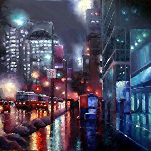 Noche Lluvia en Rey