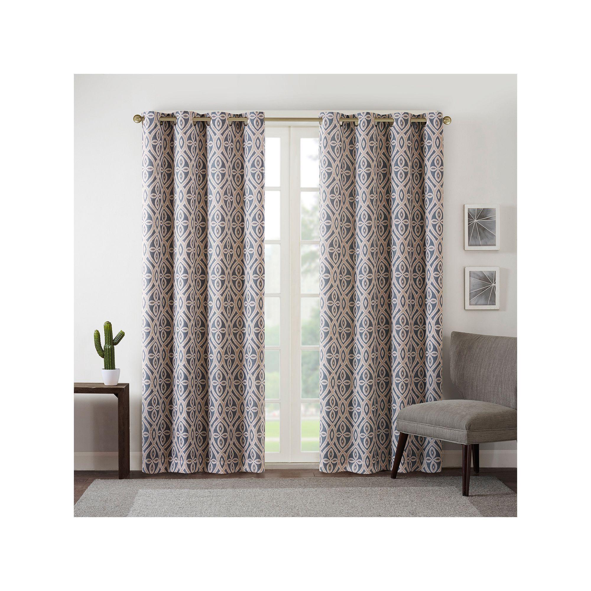 Intelligent Design Arlo Blackout Curtain Grey
