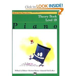 Amazon Com Alfred S Basic Piano Course Theory Alfred S Basic Piano Library Music Book Theories Books