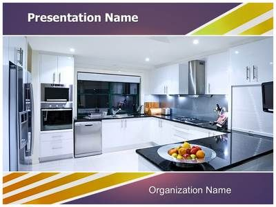 Modern Kitchen Powerpoint Template Is One Of The Best Powerpoint Templates By Editabletemplates