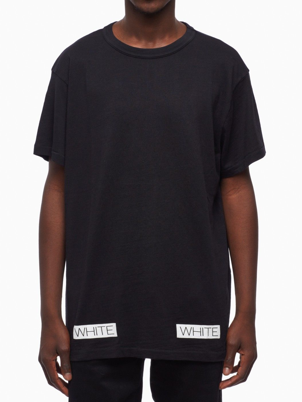 Black t shirt white collar - Find This Pin And More On Off White C O Virgil Abloh Blue Collar T Shirt