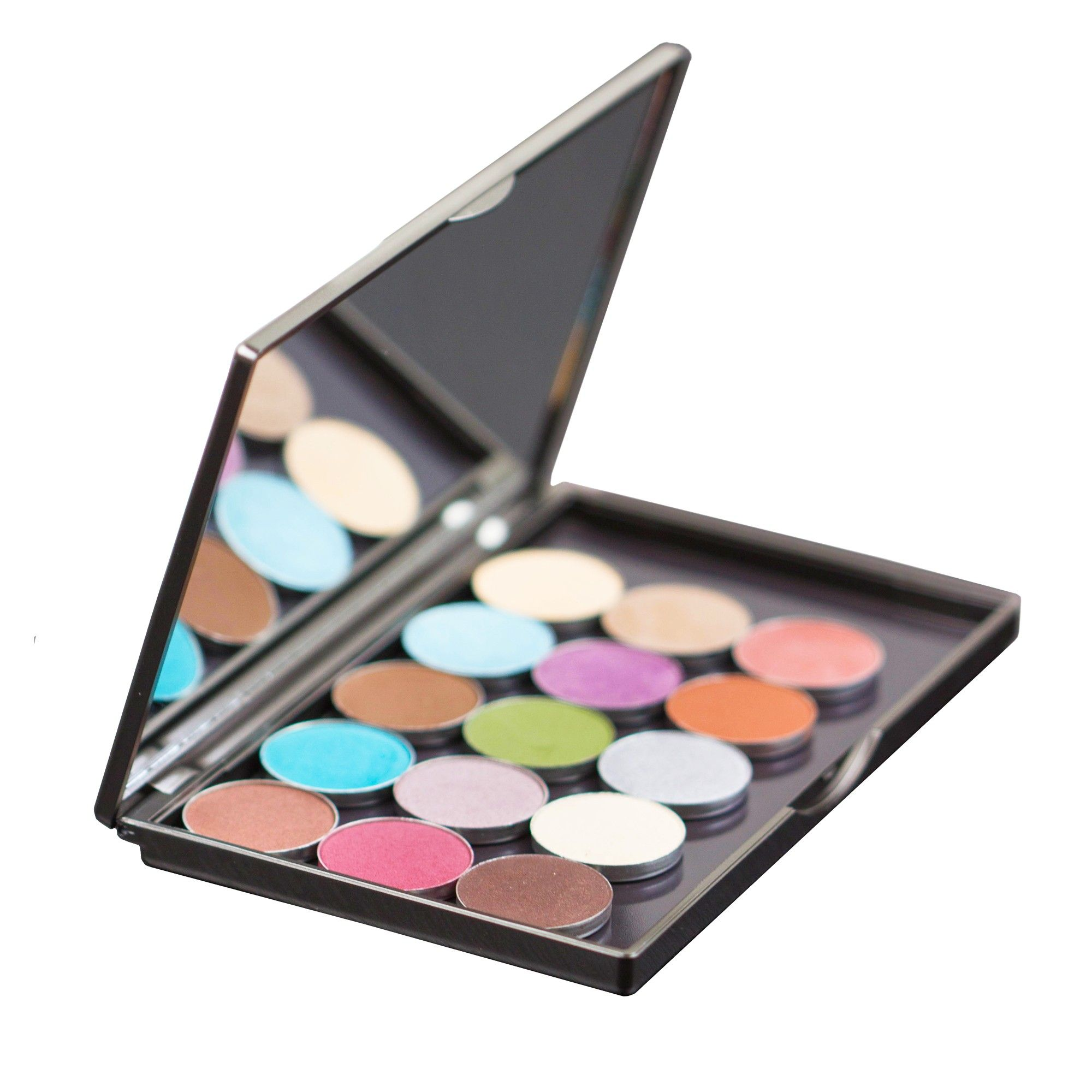 "Gunmetal ""To Go"" Palette Empty Palettes MakeupGeek"